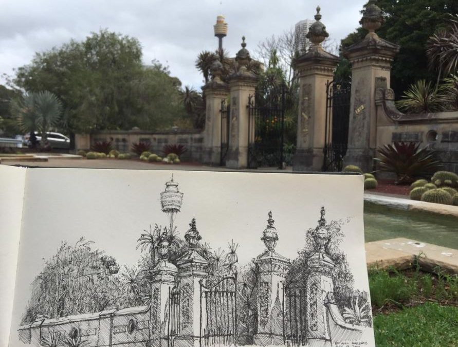 Botanic gardens, lions, nudes: more personal drawings
